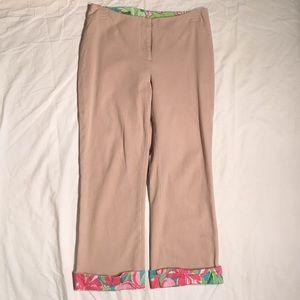 COPY - Lilly Pulitzer Khaki Pants